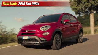 First Look: 2016 Fiat 500x