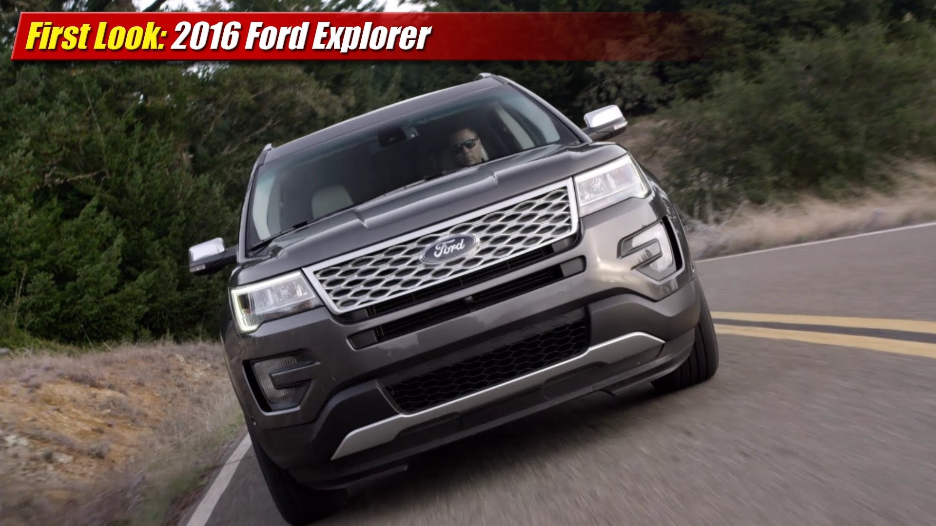 Perfect First Look 2016 Ford Explorer  TestDrivenTV