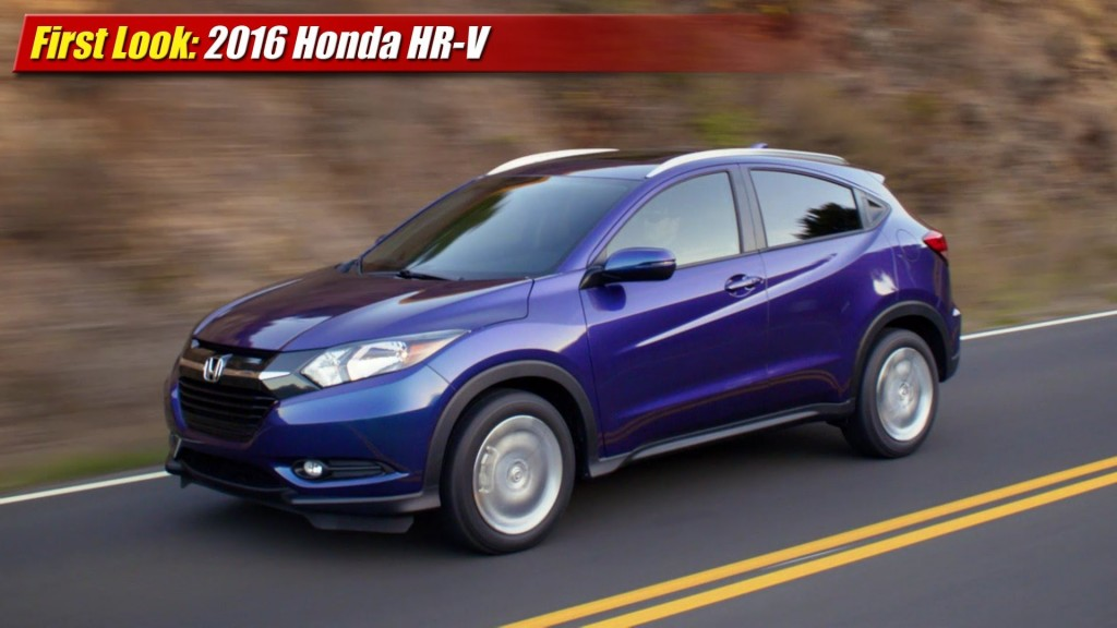 Model First Look 2016 Honda HRV  TestDrivenTV