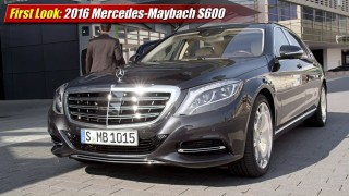 First Look: 2016 Mercedes-Maybach S600