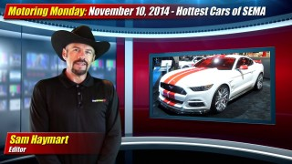 Motoring Monday: November 10, 2014 – SEMA Show Hottest Cars