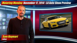 Motoring Monday: November 17th, 2014 – LA Auto Show