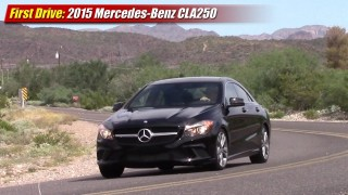 First Drive: 2015 Mercedes-Benz CLA250