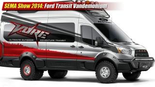 SEMA Show 2014: Ford Transit Vandemonium