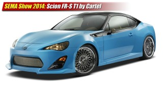 SEMA Show 2014: Scion FR-S T1 by Cartel Customs