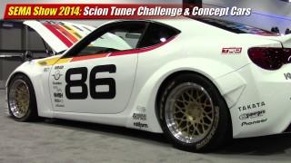 SEMA Show 2014: Scion Tuner Challenge & Concept Cars