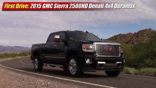 First Drive: 2015 GMC Sierra 2500HD 4×4 Duramax