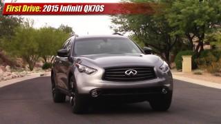 First Drive: 2015 Infiniti QX70 S