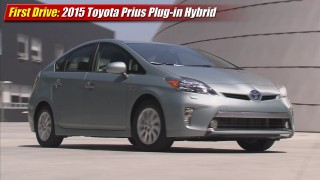 First Drive: 2015 Toyota Prius Plug-in Hybrid