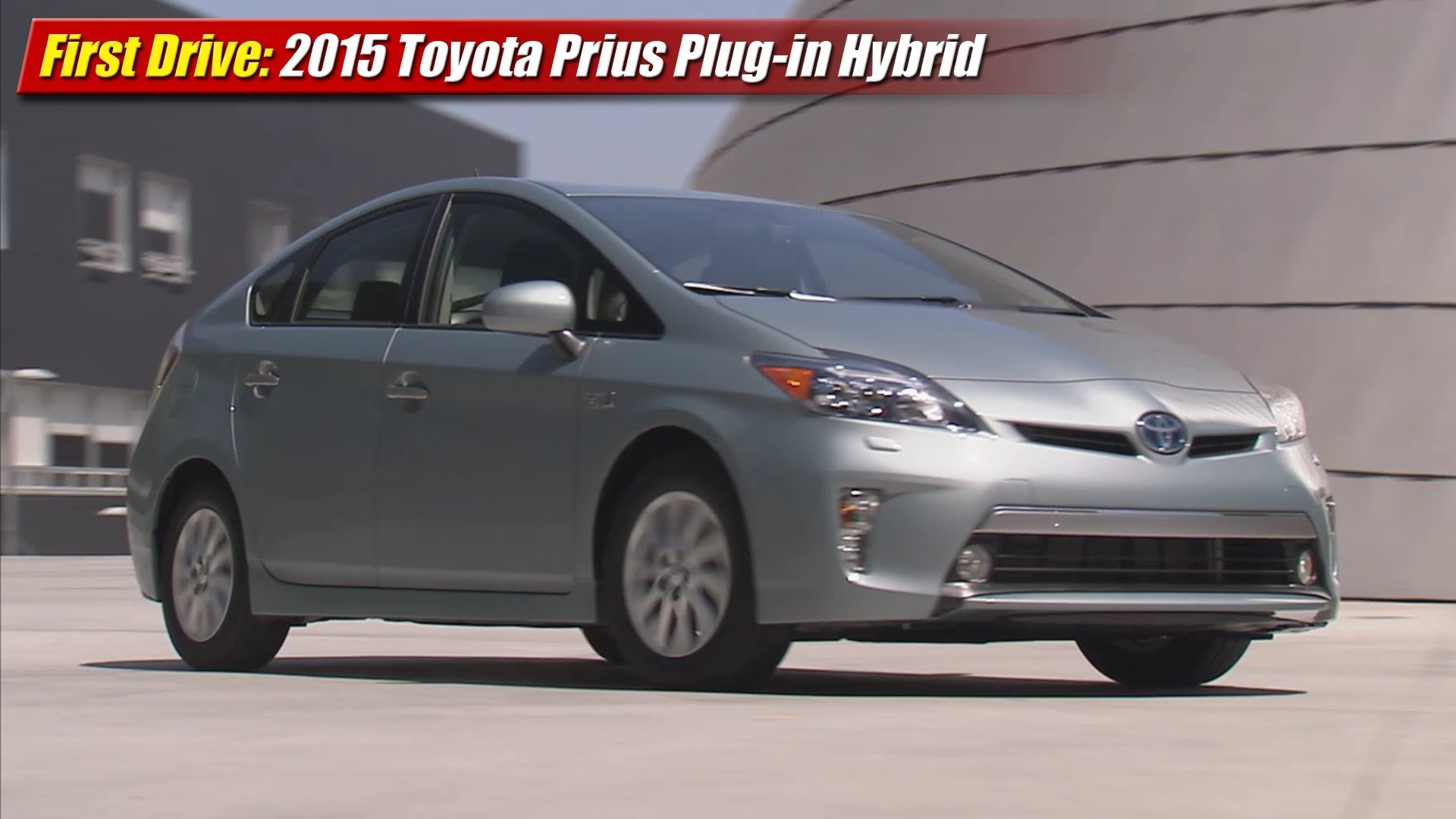 first drive 2015 toyota prius plug in hybrid testdriven tv. Black Bedroom Furniture Sets. Home Design Ideas