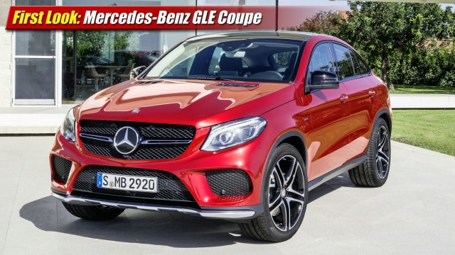 First Look: Mercedes-Benz GLE Coupe