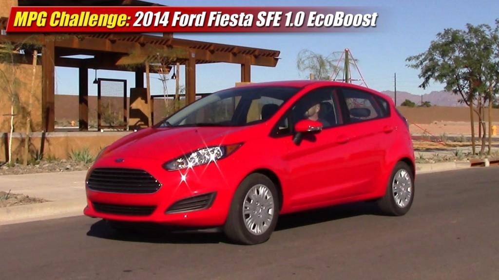 Mpg Challenge 2014 Ford Fiesta Sfe 1 0 Ecoboost