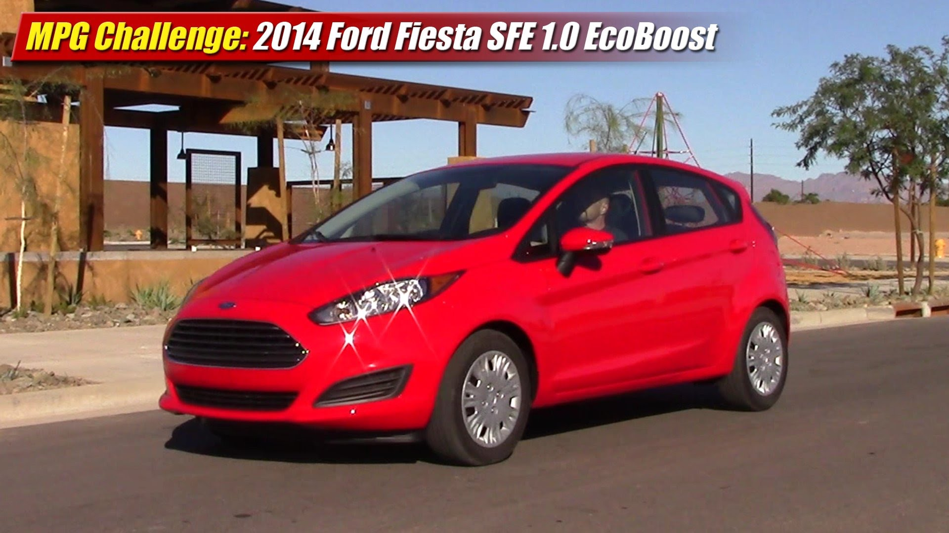 mpg challenge 2014 ford fiesta sfe 1 0 ecoboost testdriven tv. Black Bedroom Furniture Sets. Home Design Ideas
