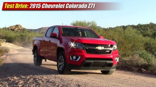 Test Drive: 2015 Chevrolet Colorado Z71