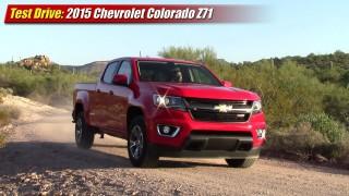 Test Drive: 2015 Chevrolet Colorado Z71