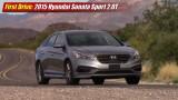 First Drive: 2015 Hyundai Sonata Sport 2.0T