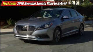 First Look: 2016 Hyundai Sonata Plug-In Hybrid