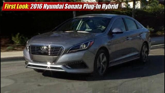 First Look: 2016 Hyundai Sonata Plug-In Hybrid