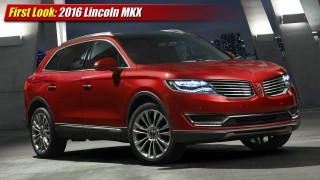 First Look: 2016 Lincoln MKX