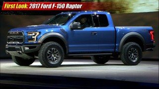 First Look: 2017 Ford F-150 Raptor