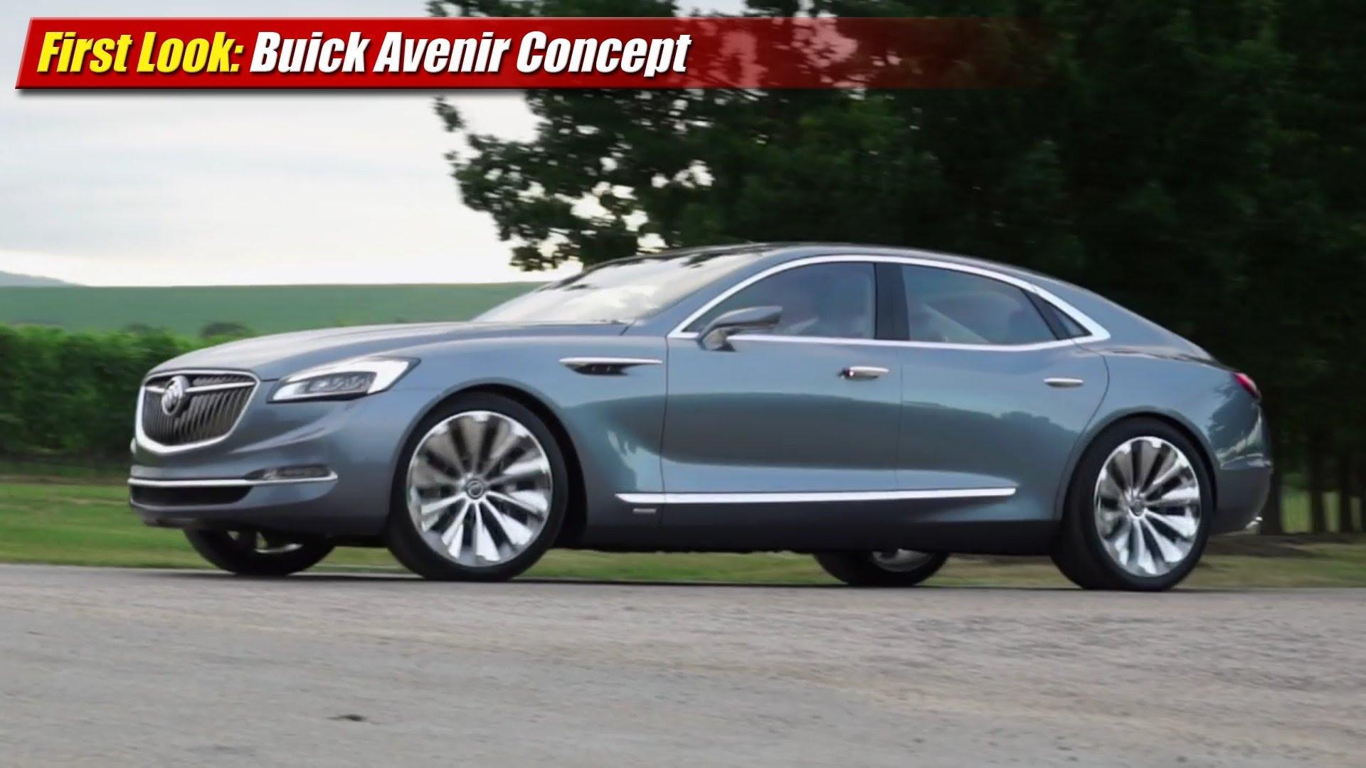 First Look: Buick Avenir Concept - TestDriven.TV