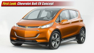 First Look: Chevrolet Bolt EV Concept