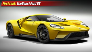First Look: EcoBoost Ford GT