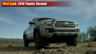 First Look Extended Play: 2016 Toyota Tacoma
