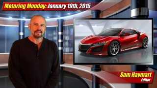 Motoring Monday: January 19th, 2015
