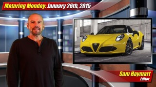 Motoring Monday: January 26th, 2015
