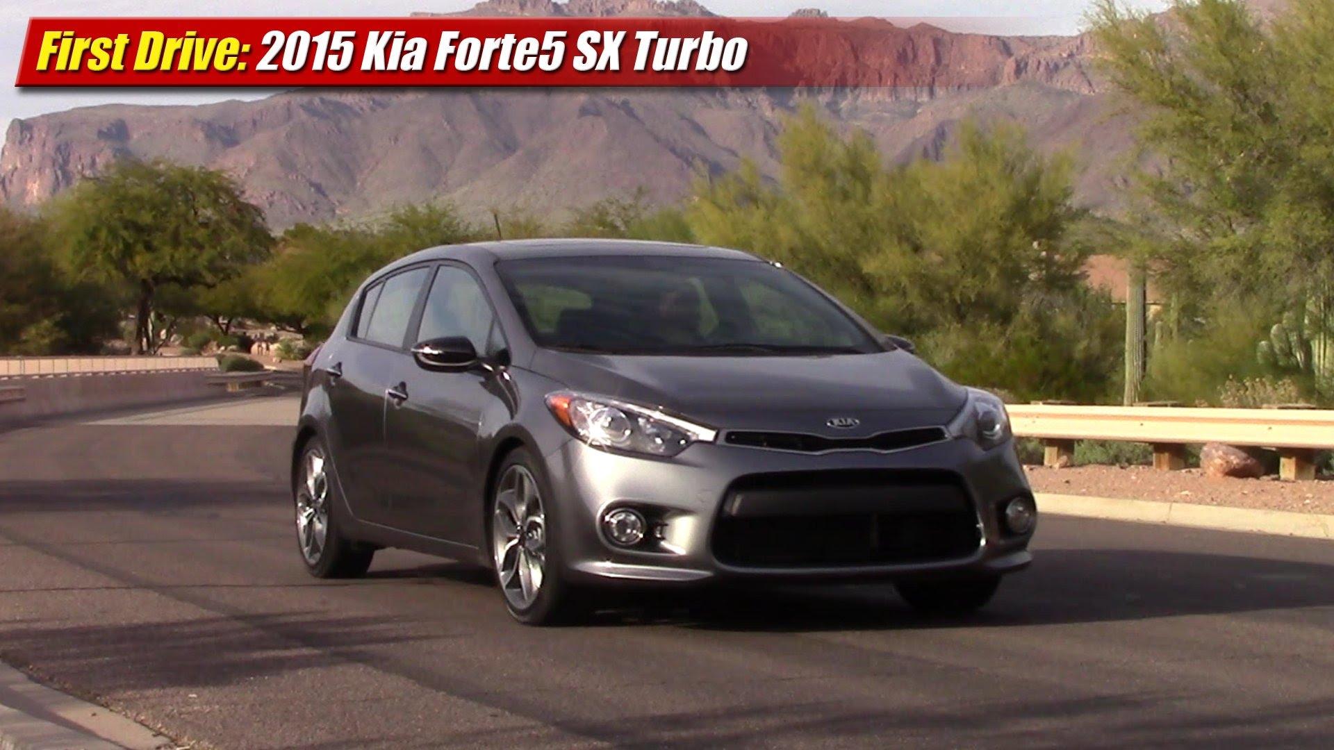 First Drive 2017 Kia Forte5 Sx Turbo