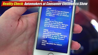 Reality Check: Automakers at Consumer Electronics Show