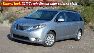 Second Look: 2015 Toyota Sienna gains safety & style