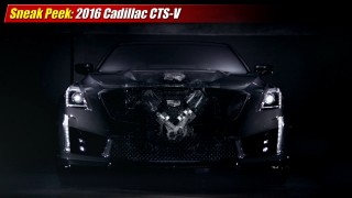 Sneak Peek: 2016 Cadillac CTS-V