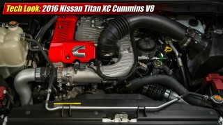 Tech Look: 2016 Nissan Titan XD Cummins V8