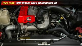 Tech Look: 2016 Nissan Titan XD Cummins V8