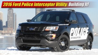 2016 Ford Police Interceptor Utility: Building It!