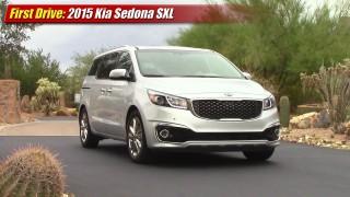 First Drive: 2015 Kia Sedona SXL