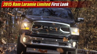 First Look: 2015 Ram Laramie Limited