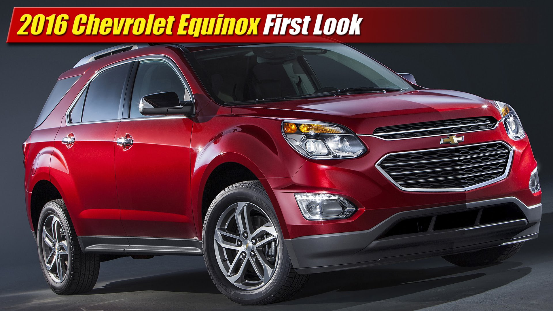 Brilliant First Look 2016 Chevrolet Equinox  TestDrivenTV