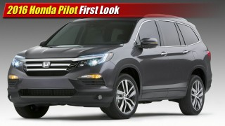 First Look: 2016 Honda Pilot