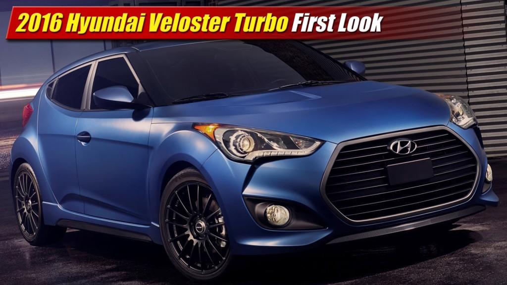 Hyundai Veloster Tires >> First Look: 2016 Hyundai Veloster Turbo - TestDriven.TV