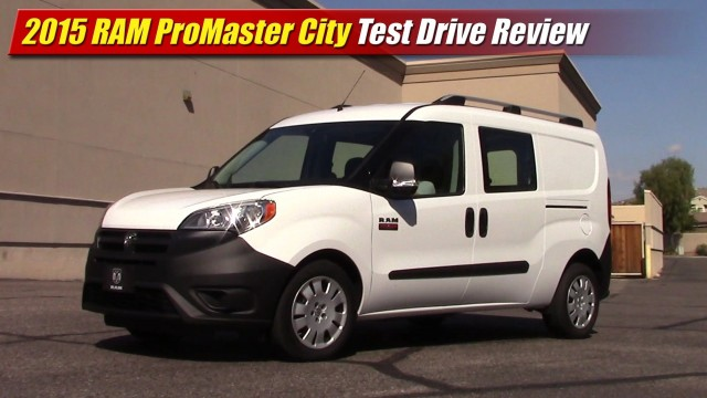 Test Drive: 2015 RAM ProMaster City