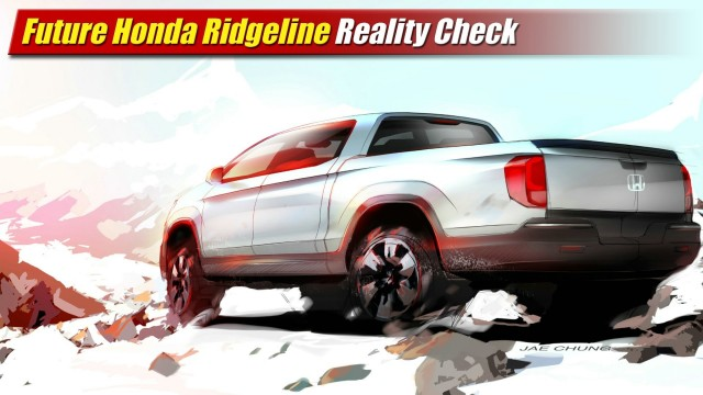 Reality Check: Future Honda Ridgeline