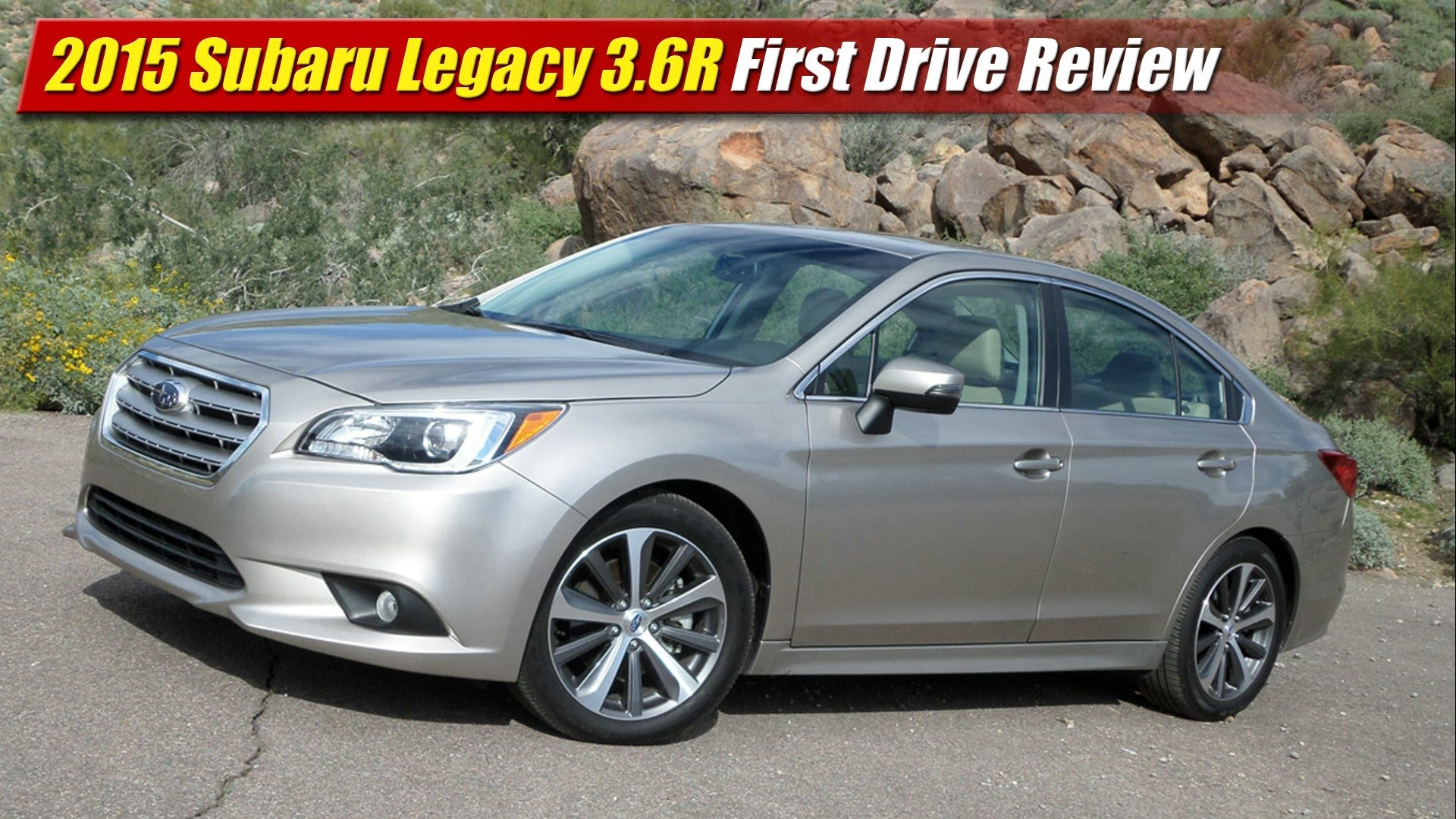Subaru Legacy 3.6 R >> 2015 Subaru Legacy 3.6R First Drive Review - TestDriven.TV