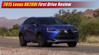 First Drive: 2015 Lexus NX200t F Sport