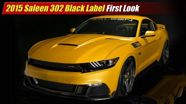 First Look: 2015 Saleen 302 Black Label