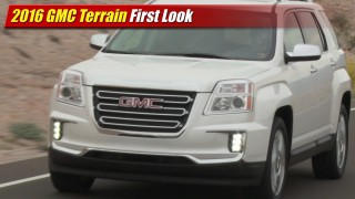 First Look: 2016 GMC Terrain