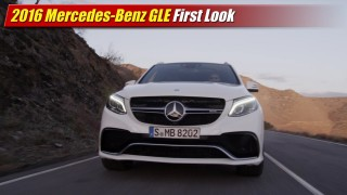 First Look: 2016 Mercedes-Benz GLE