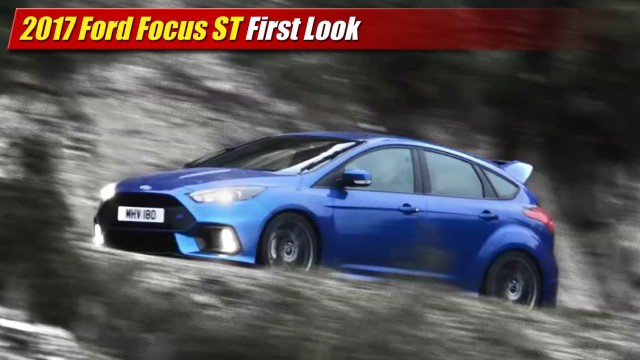 First Look: 2017 Ford Focus RS
